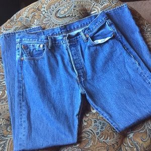 Levi's, 501 W34 L32 Original fit blue jeans